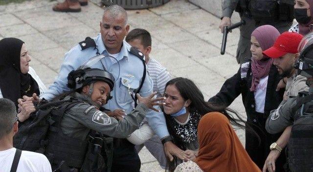 Mevlit Kandilini kutlamak isteyen Filistinlilere İsrail müdahalesi: 20 yaralı, 7 gözaltı