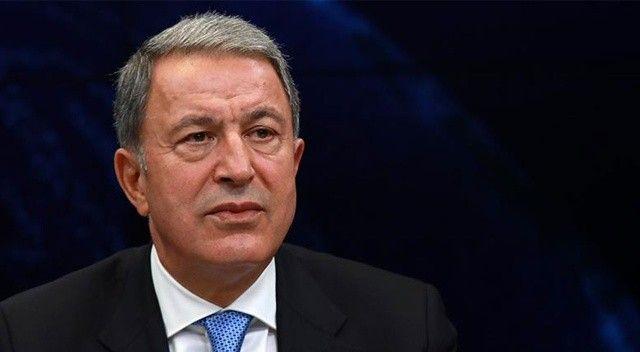 Milli Savunma Bakanı Hulusi Akar açıklama yaptı