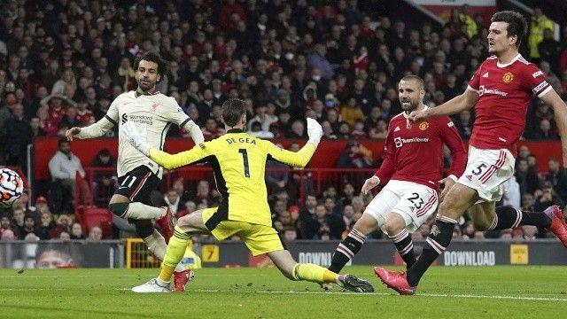Muhammed Salah yine şov yaptı! Liverpool, Manchester United'ı dağıttı