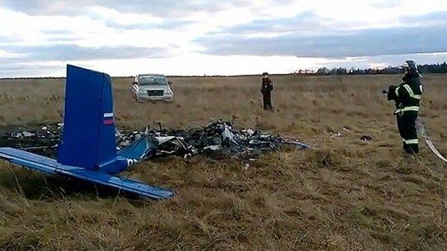 Rusya'da küçük uçak düştü, 2 kişi öldü