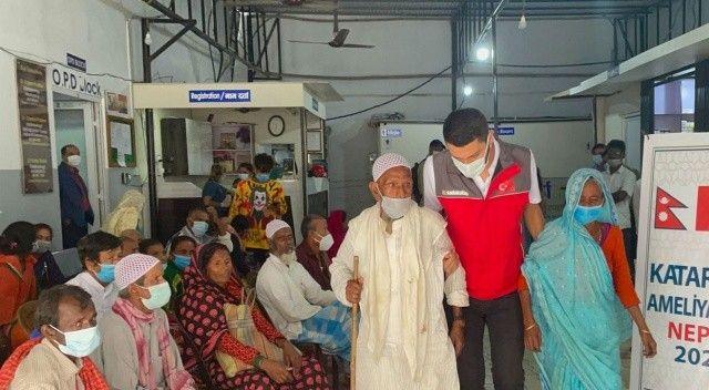 Sadakataşı'ndan Nepal'de 570 katarakt ameliyatı