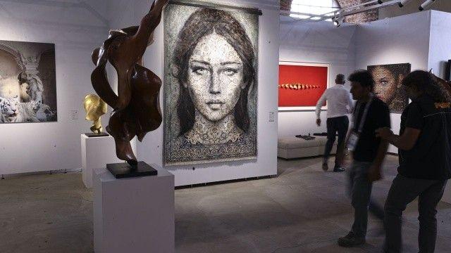 Sanat şöleni başladı: 16. Contemporary Istanbul açıldı