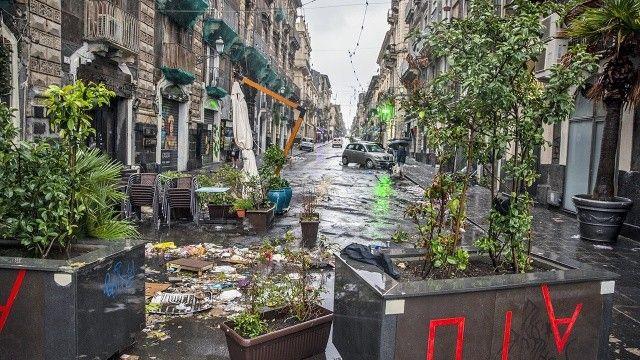 Sicilya'da sel: Benzeri görülmemiş bir felaketle karşı karşıyayız