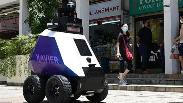 Singapur'da Robocop devri: Kurallara uymayanların korkulu rüyası olacak