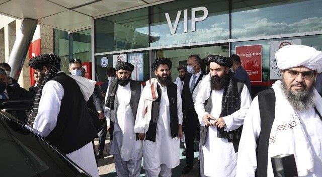 Taliban heyeti Ankara'da:Diplomatik ilk temas
