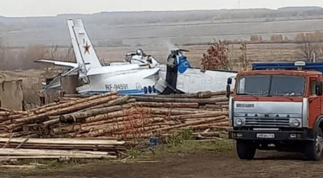 Tataristan'da uçak kazası: Çok sayıda ölü var