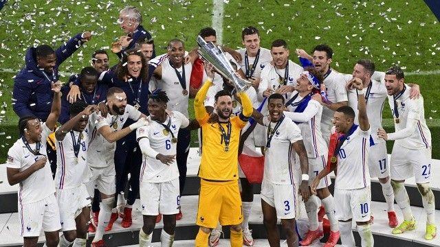 UEFA Uluslar Ligi'nde şampiyon Fransa oldu