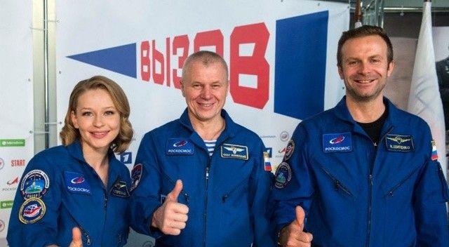 Uzayda 12 gün film çeken Rus yönetmenin yeni rotası Ay ya da Mars