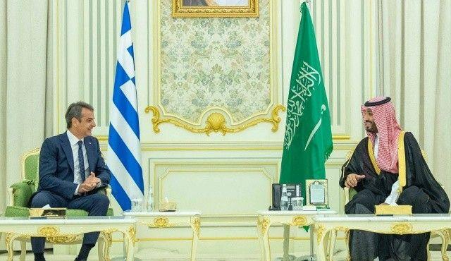 Veliaht Prens, Sarkisyan ve Miçotakis'i ağırladı