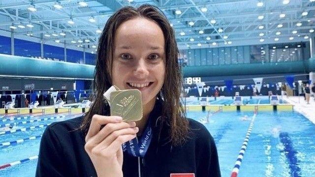 Viktoria Zeynep Güneş altın madalya kazandı