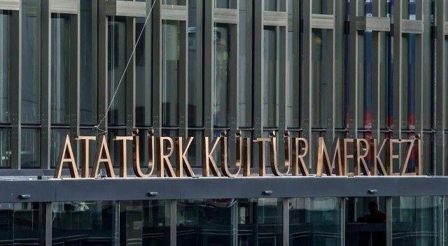 Yenilenen Atatürk Kültür Merkezi'nin son hali görüntülendi