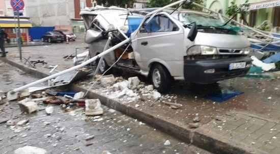 Aydın'ı fırtına vurdu: 7 kişi yaralandı