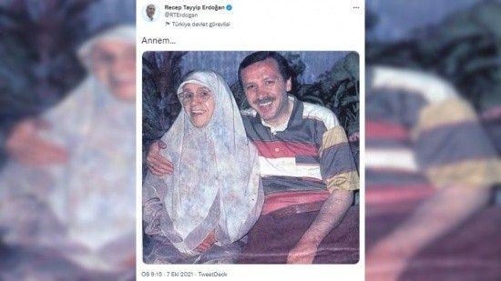 Cumhurbaşkanı Erdoğan'dan duygulandıran paylaşım