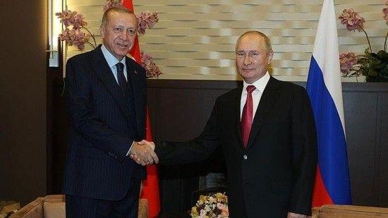 Erdoğan ve Putin'den telefon diplomasisi