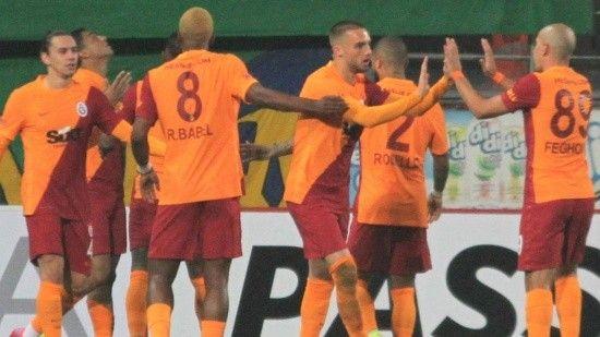Galatasaray son saniyede Rizespor'u devirdi