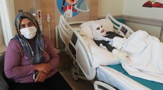 Gaz kokusunu çakmakla kontrol eden yaşlı kadın feci şekilde yandı