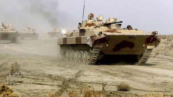 İran Azerbaycan sınırında savaş tatbikatı
