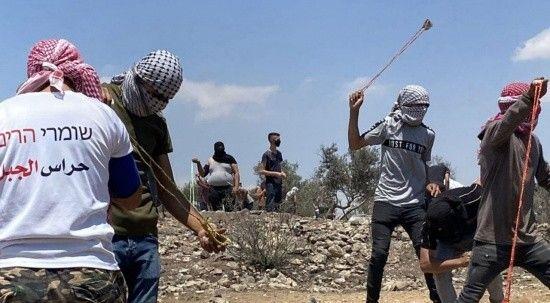 İsrail güçleri Nablus'taki Filistinlere müdahale etti: 51 kişi yaralandı!