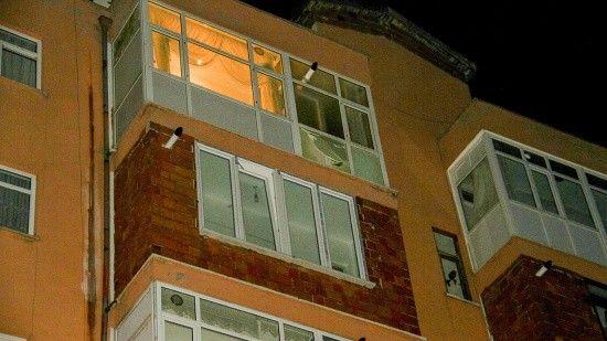 Konya'da 5. kattan düşen çocuk öldü