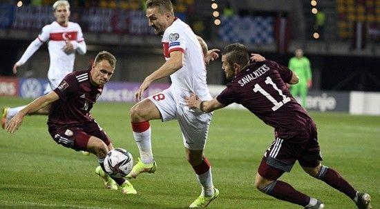 A Milliler Letonya'yı 90+9'da devirdi