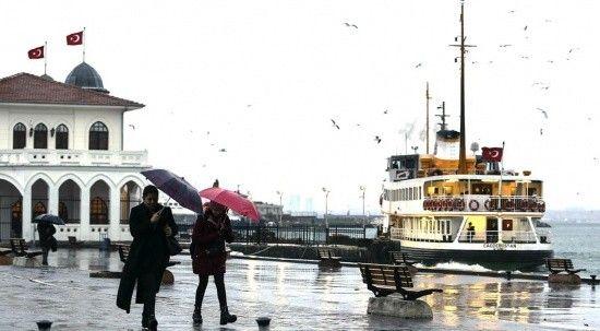 Marmara ve Kuzey Ege'ye sağanak geliyor   8 Ekim 2021 hava durumu