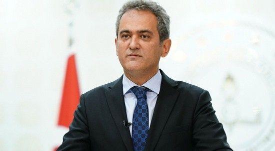 Milli Eğitim Bakanı Mahmut Özer öğretmenlerin aşılanma oranları hakkında konuştu