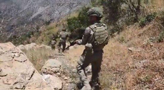 MSB: PKK'nın sözde doğu karargahı ele geçirildi 12 terörist öldürüldü
