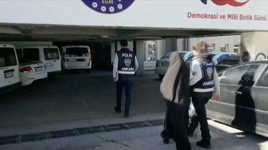 Rus uyruklu DEAŞ militanı Ankara'da yakalandı