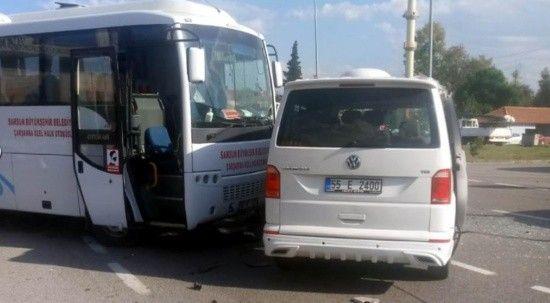 Samsun'da zincirleme kaza: Yaralılar var