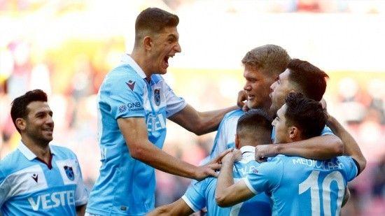 Trabzonspor, Kayserispor'u 2-1 mağlup etti