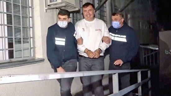 Tutuklanan eski Gürcistan Cumhurbaşkanı Saakaşvili açlık grevine başladı