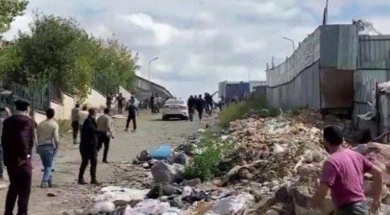 Ümraniye'de kağıt toplayıcılarına yapılan polis baskında ortalık karıştı!