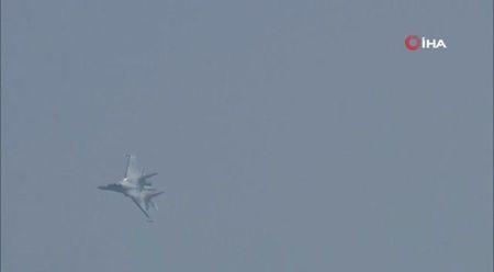 SU-35 TEKNOFEST'te nefes kesti