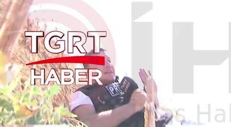 TGRT Haber sıcak bölgede saldırıya uğradı