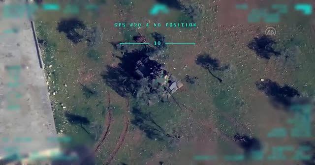 İdlib operasyonundan yeni görüntüler! Rejim hedefleri böyle vuruluyor