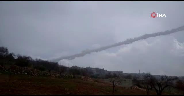 Sarakib çevresinde bulunan rejim unsurları vuruluyor