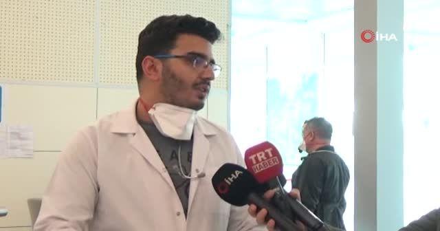 Sarp Sınır Kapısı'nda koronavirüsü nedeniyle tedbirler arttırıldı