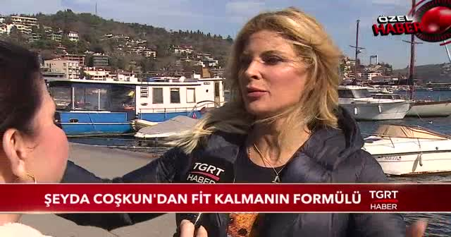Şeyda Coşkun'dan fit kalmanın formülü