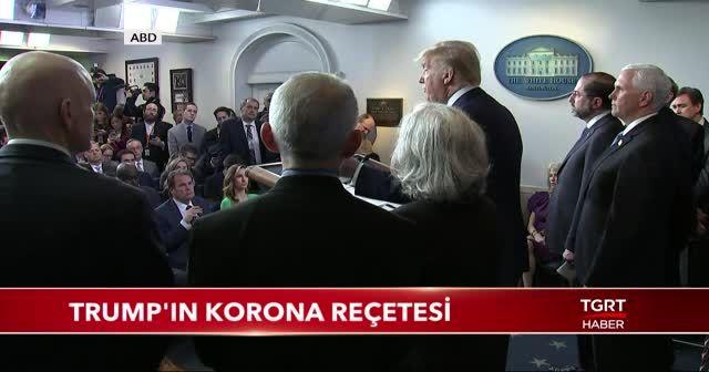 Trump'ın 'Korona' reçetesi