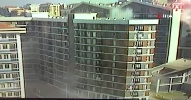 Esenyurt'ta doğal gaz patlaması kamerada