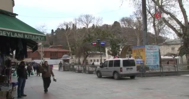 Polis, drone ile vatandaşları uyarmaya devam ediyor