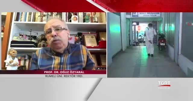 Prof. Dr. Oğuz Özyaral TGRT Haber'e konuk oldu
