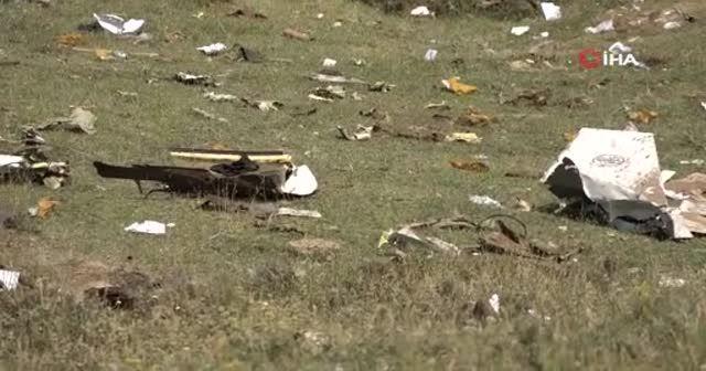 7 polisin şehit düştüğü uçağın kara kutusu bulundu