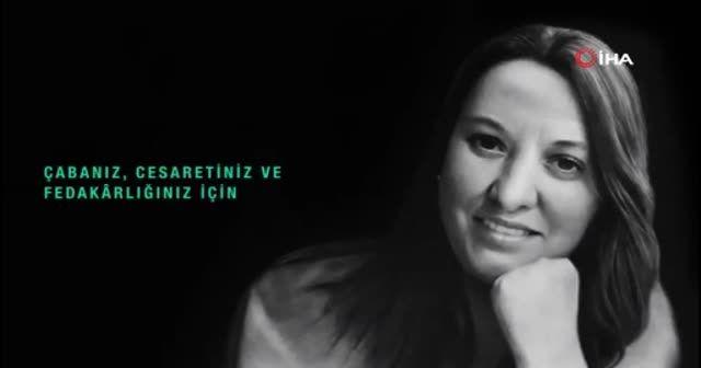 Bakan Koca'dan hemşire Dilek Akçabelen paylaşımı