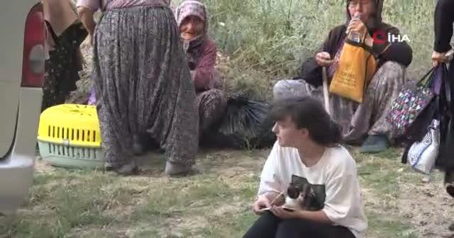 Gelibolu Tarihi Yarımadası'ndaki yangın sebebiyle Çanakkale'de 3 köy boşaltıldı
