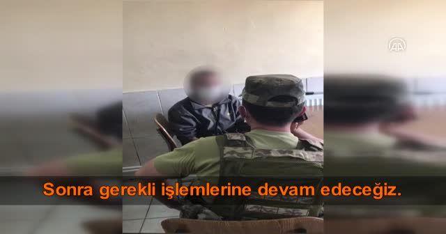 Hakkâri'de PKK'lı bir terörist, Komandolarımıza teslim oldu