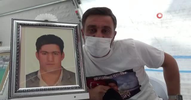 HDP önündeki ailelerin evlat nöbeti 306'ncı gününde