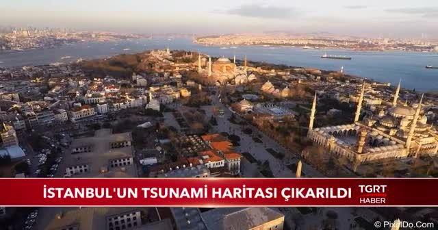 İstanbul'un tsunami haritası çıkarıldı