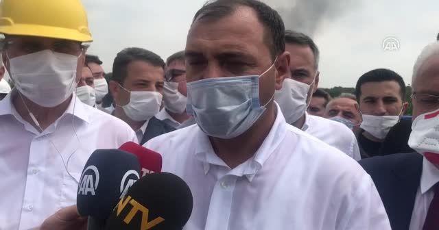 Sakarya Valisi Çetin Oktay Kaldırım'dan havai fişek fabrikasında patlamaya ilişkin açıklama