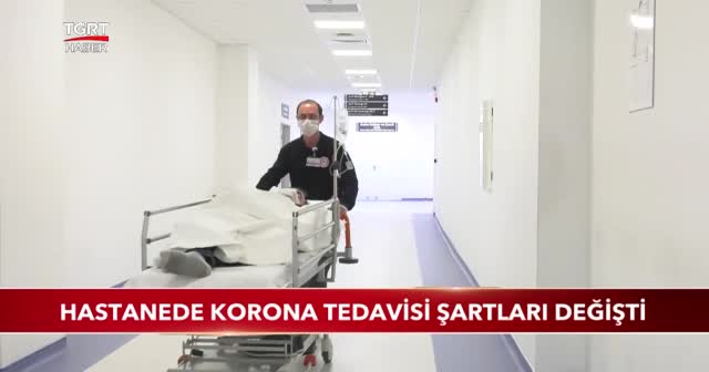 Hastanede korona tedavisi şartları değişti